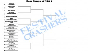 Brackets20121 300x182 Favorite Song of 2012 Contest Brackets