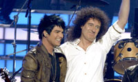 adamandbrianmay Queen to work with Adam Lambert?