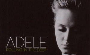 adelerolling 300x185 Favorite song 2011 Round 1: Adele Rolling in the Deep vs. Not in the Face! Brass Tacks