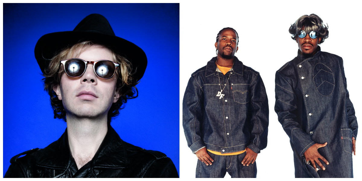 beck collage ACL 2014   Outkast vs Beck Breakdown