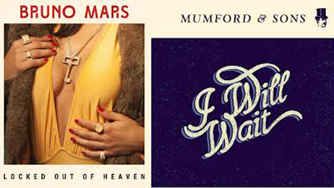 Favorite Song of 2012 Contest: Round 2: Mumford &#038; Sons &#8220;I Will Wait&#8221; vs. Bruno Mars &#8220;Locked Out of Heaven&#8221;