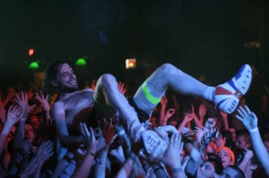 carlyeGT 300x199 Stage Diving at Girl Talk: Like Blowing Up The Moon