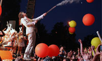 flaminglipspitchfork The Flaming Lips Close Pitchfork With a Bang
