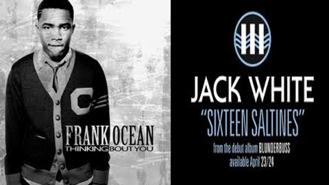 "Favorite Song of 2012: Round 2: Frank Ocean ""Thinking About You"" vs. Jack White ""Sixteen Saltines"""