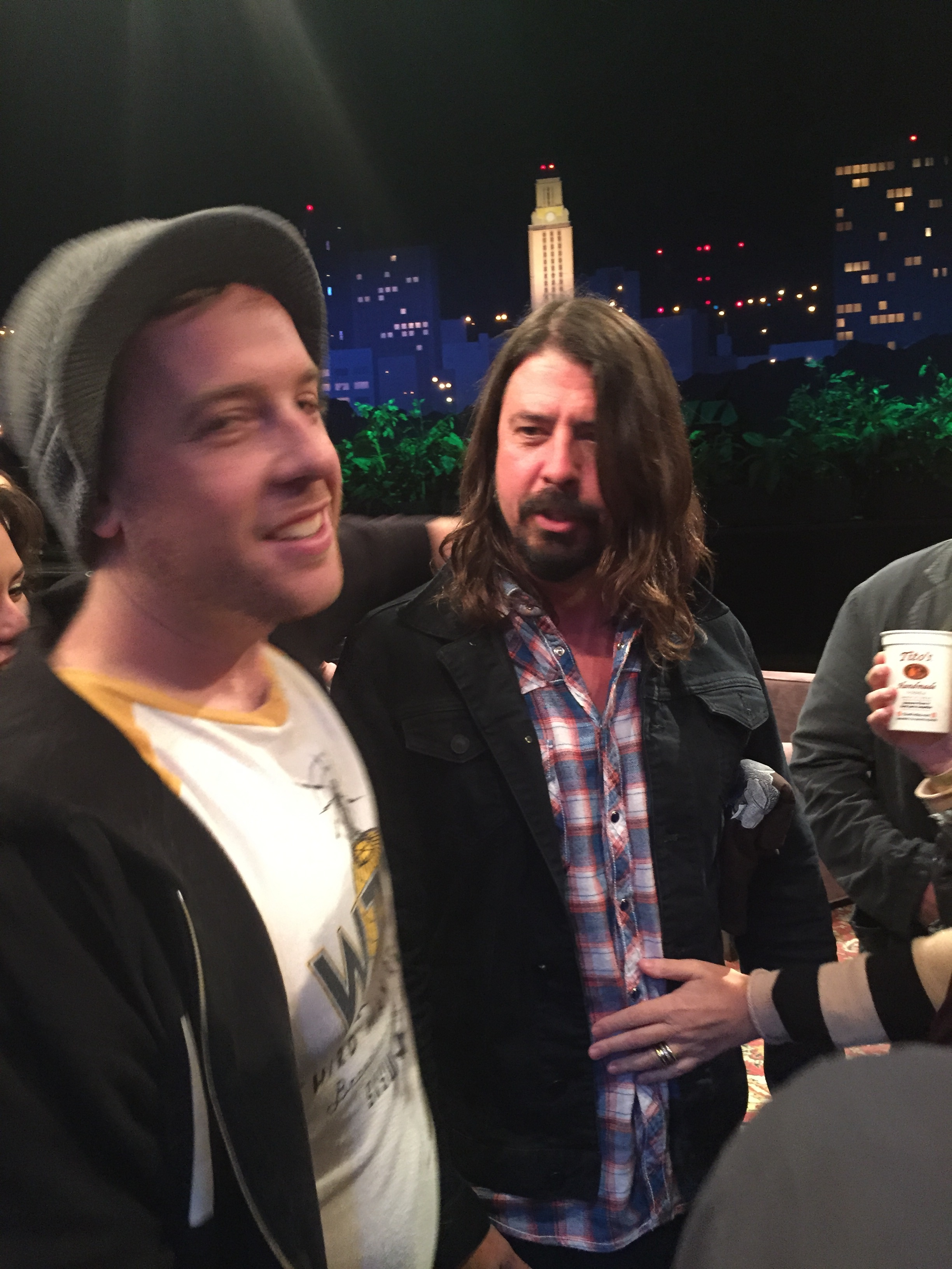 grohllook4 One last 20s Adventure: Dave Grohl Introducing Austins Sonic Highways