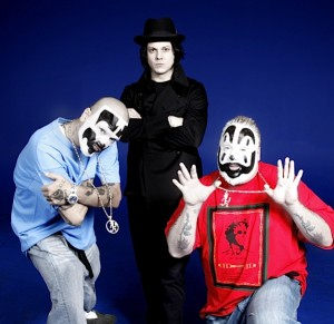 jackicp 300x291 Jack Whites Insane Clown Posse Collaboration is the most daring single of 2011