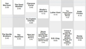 jazzy 300x173 Jazz Fest 2010 Schedule Grid announced