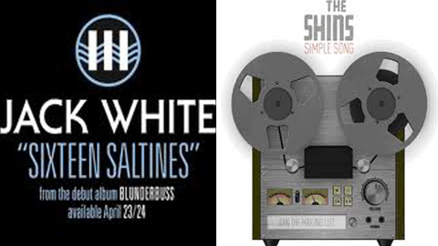 "Favorite Song of 2012 Contest: Round 1: Jack White ""Sixteen Saltines"" vs. The Shins ""Simple Song"""