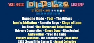 lolla2 300x139 Lou Reed and Snoop on official Lollapalooza line up