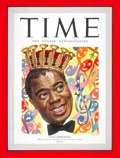 louis king1 Louis Armstrong: Americas Son