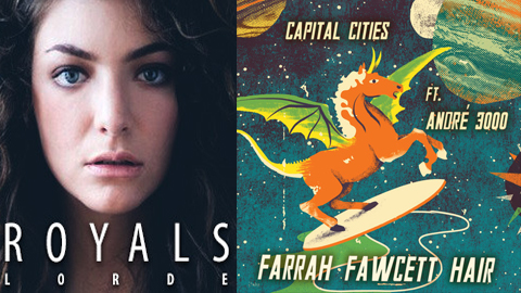 "Favorite Song of 2013: Round 1: Lorde ""Royals"" vs. Capital Cities ""Farah Fawcett Hair"""
