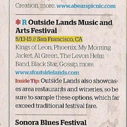 outsideclue SF Outside Lands 2010 Festival Schedule Announcement