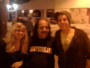 ron 300x225 Why was Ron Jeremy at Dirty Projectors?