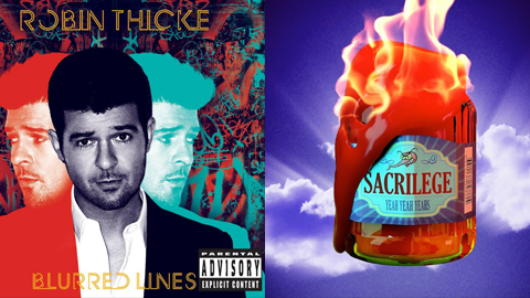 "Favorite Song of 2013 Contest: Round 1: Robin Thicke f. Pharell ""Blurred Lines"" vs. Yeah Yeah Yeah's ""Sacrilege"""