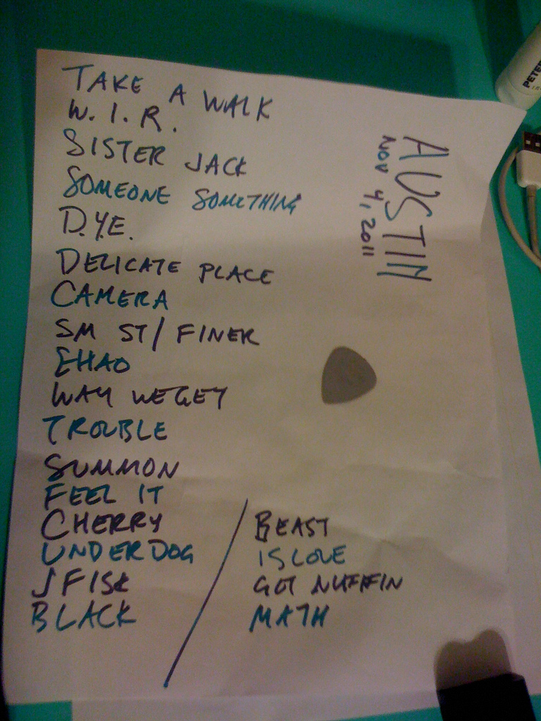 spoonsetlist Spoons Fun Fun Fun Nite Performance Made Me Love After Shows
